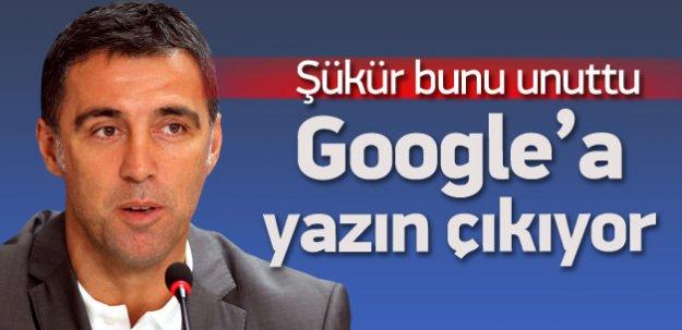 Hakan Şükür'ün büyük unutkanlığı!
