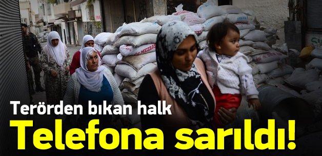 Halktan PKK ihbarı! 55 bin telefon