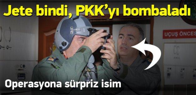 Hava kuvvetleri komutanı PKK kamplarını bombaladı