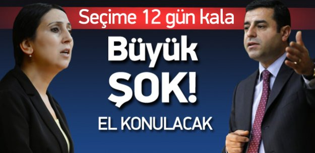 HDP Seçim Bildirgesi'ne toplatma kararı!