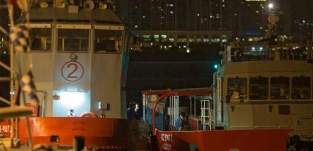 Hong Kong'da feribot kazası: 120 yaralı