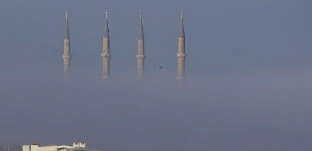 İlginç görüntü: Selimiye Camisi kayboldu!