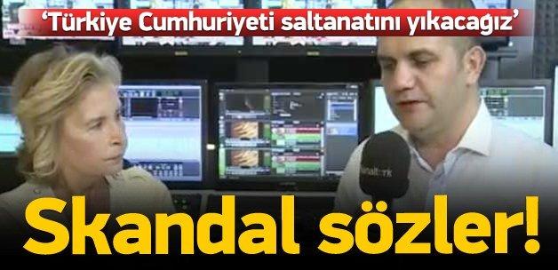 Ilıcak'tan 'Türkiye Cumhuriyet saltanatı' skandalı