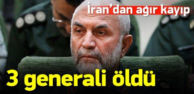 İran 3 gün içinde 3 generalini kaybetti