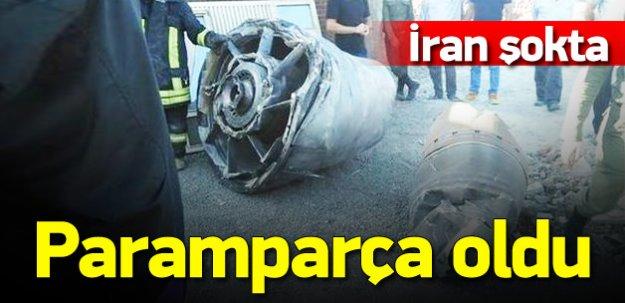 İran uçağı zorunlu iniş yaptı