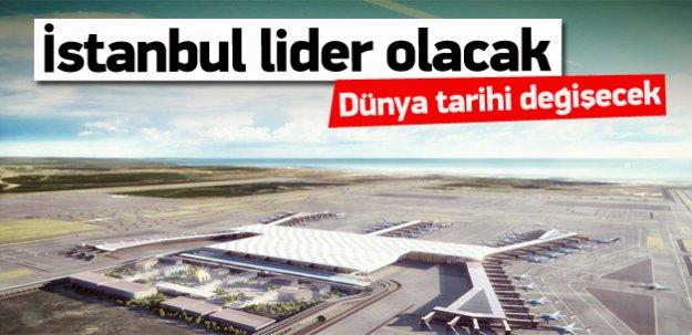 İstanbul lider olacak, dünya tarihi değişecek