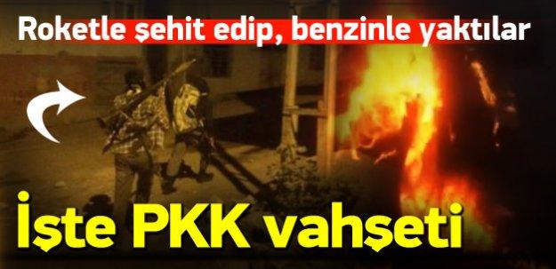 İşte PKK vahşetinin görüntüleri
