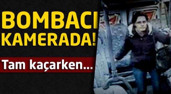 İzmir'deki, bombacı güvenlik kamerasında!