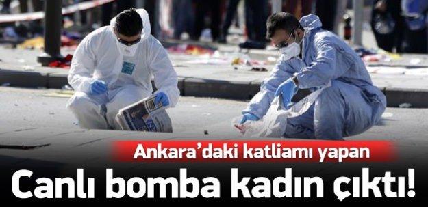 Katliamı yapan canlı bomba 'kadın' çıktı!