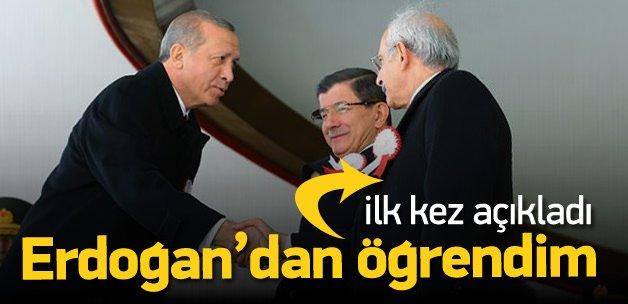 Kılıçdaroğlu, Erdoğan'dan öğrenmiş