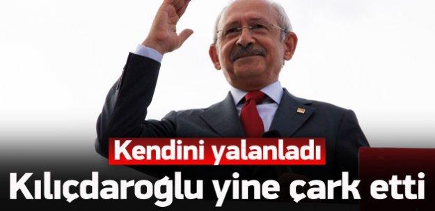 Kılıçdaroğlu yine çark etti, kendini yalanladı