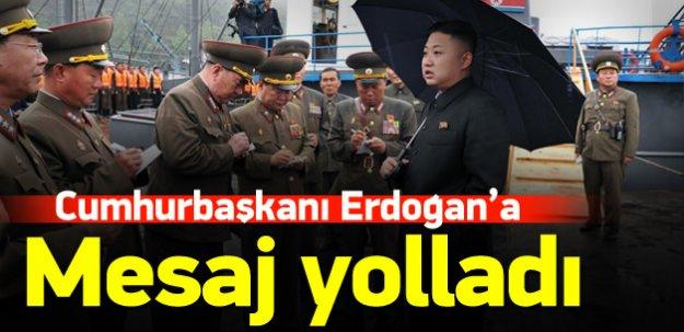 Kim Jong-un'dan Erdoğan'a mesaj