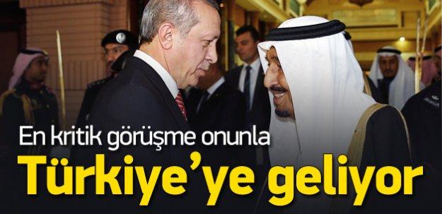 Kral Selman Türkiye'ye geliyor