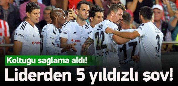 Lider Beşiktaş gümbür gümbür!
