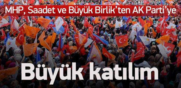 MHP, Saadet ve BBP'den AK Parti'ye geçiyorlar