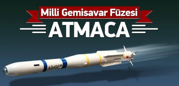 Milli Gemisavar Füzesi ATMACA ne zaman geliyor?