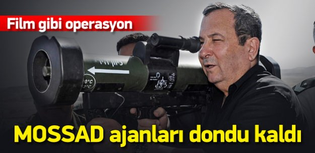 MOSSAD ajanlarını şaşkına çeviren Barak hamlesi