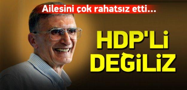Nobeli kazanan Sancar'ın ailesi: HDP'li değiliz