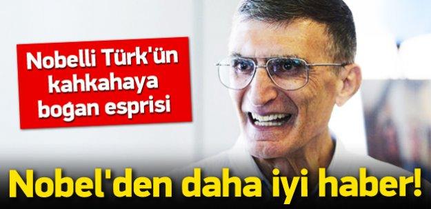 Nobelli Türk Sancar'ın kahkahaya boğan esprisi