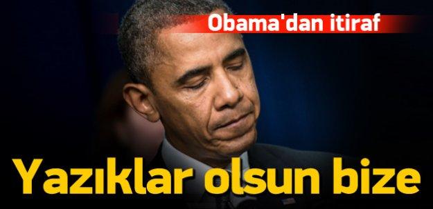 Obama: Aynı hatayı yaparsak yazıklar olsun bize