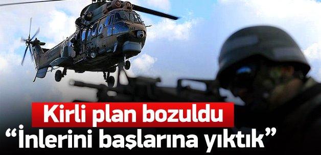 Osman Akgül: İnlerini başlarına yıkıyoruz
