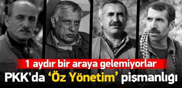 """PKK'da """"öz yönetim"""" pişmanlığı"""