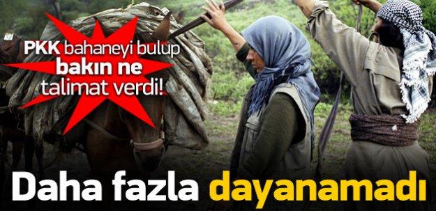 PKK daha fazla dayanamadı! Şimdi de...