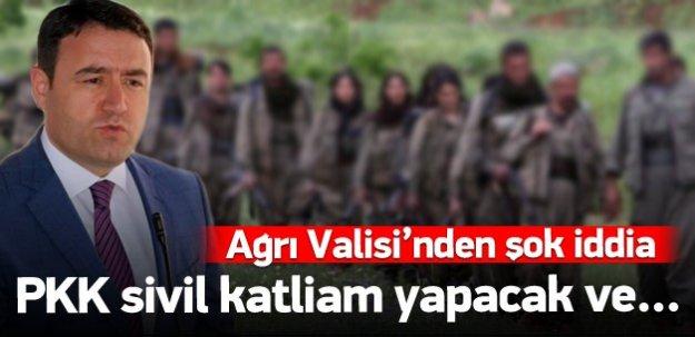 """""""PKK sivil katliam yapıp suçu devlete atacak"""""""