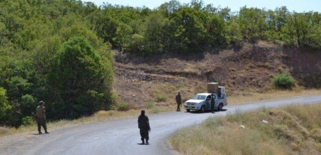 PKK Tunceli'de askerleri kaçırdı!