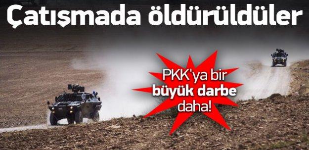 PKK'ya ağır darbe! Çatışmada öldürüldüler