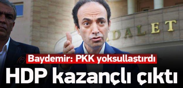 'PKK yoksullaştırdı, HDP kazandı'