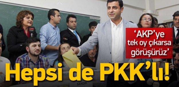 PKK'nın son umudu sandıkta manipülasyon