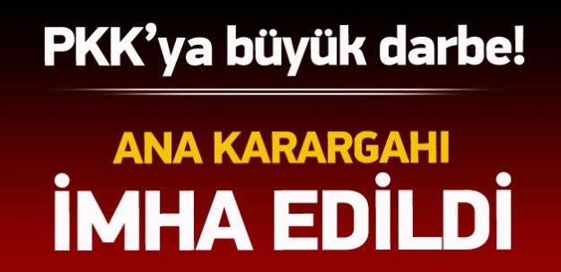 PKK'ya büyük darbe! İmha edildi