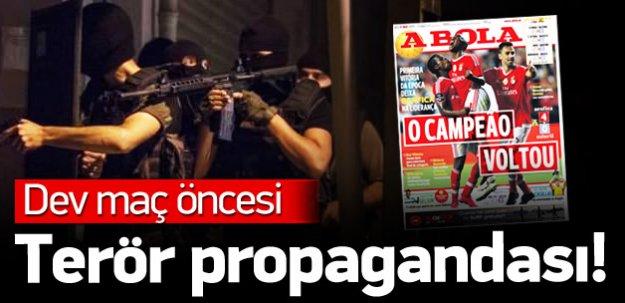 Portekiz basını: Türkiye'de savaş var!