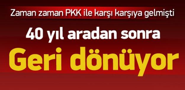 PSK, 40 yıl sonra legal siyaset için dönüyor