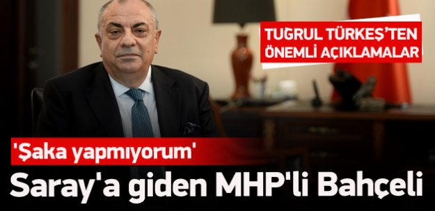 'Saray'a giden MHP'li Bahçeli'dir'