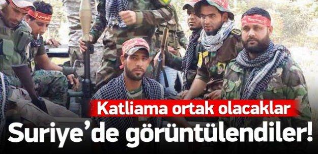 Şii milisler Suriye'de!