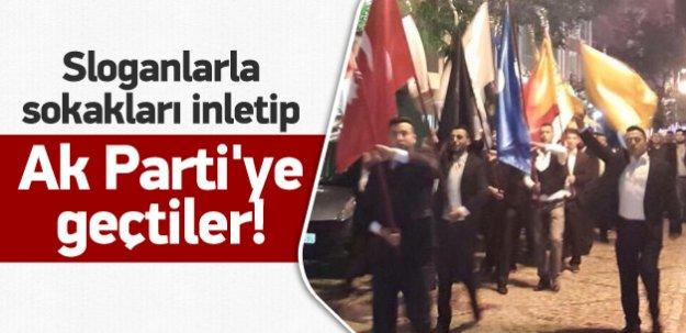 Silivri BBP ve Alperenler sloganlarla AK Parti'de