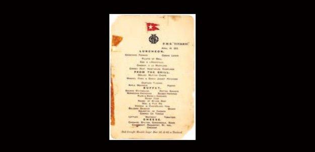 Son yemeğin mönüsü rekor fiyata satıldı