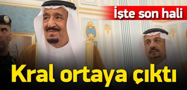 Suudi Arabistan Kralı Selman görüldü