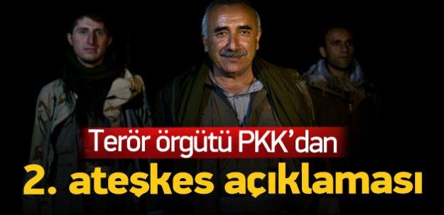 Terör örgütü PKK'dan ikinci ateşkes açıklaması