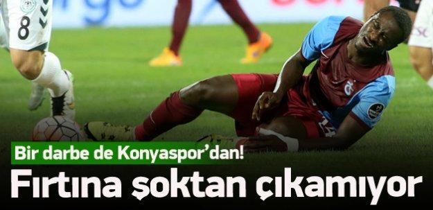 Trabzonspor'a bir darbe daha!