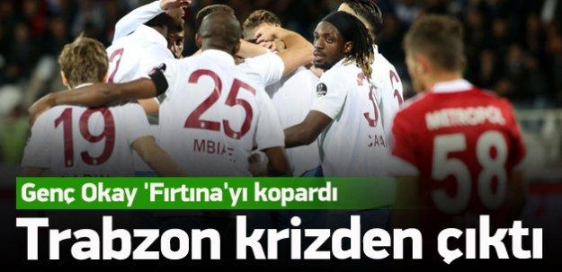 Trabzonspor krizden çıktı!