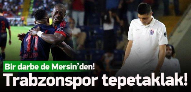 Trabzonspor tepetaklak!
