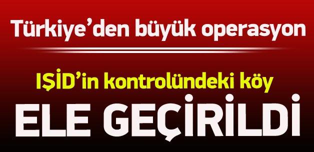 Türk jetleri IŞİD'e bomba yağdırdı