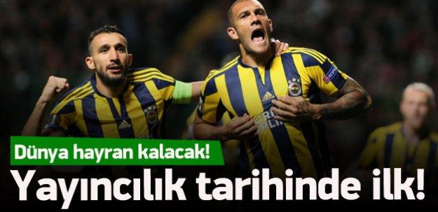 Türk yayıncılık tarihinde bir ilk!
