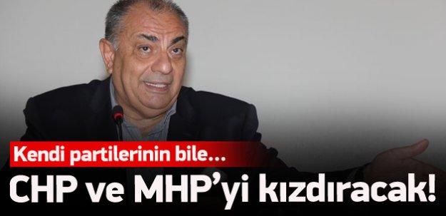 Türkeş: Bahçeli'nin haddi değil