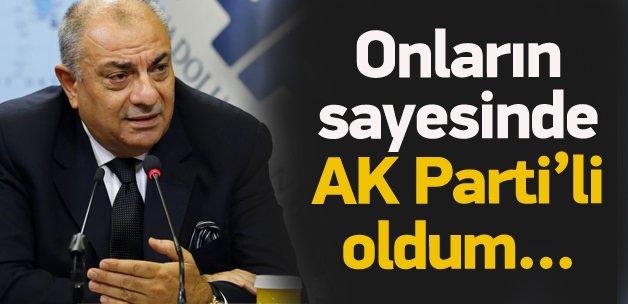 Türkeş: Onların sayesinde AK Parti'li oldum