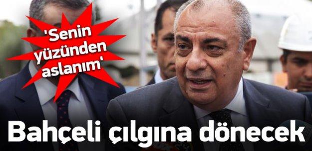 Türkeş'ten Bahçeli'ye: Senin yüzünden oldu Aslanım