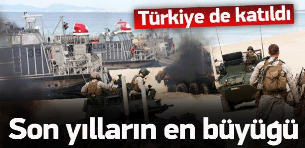 Türkiye de katıldı! Son 10 yılın en büyüğü
